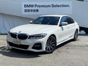 BMW 3シリーズ 320i Mスポーツ コンフォートPKG LEDヘッドライト アクティブクルーズコントロール 純正18インチAW オートトランク Bカメラ PDC シートヒーター ハーフレザーシート 純正HDDナビ