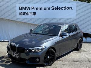 BMW 1シリーズ 118i Mスポーツ エディションシャドー ワンオーナー 純正HDDナビ バックカメラ 前後PDCセンサー LEDヘッドライト コニャックレザー シートヒーター 社外地デジ ブラックキドニーグリル アクティブクルーズコントロール 認定保証
