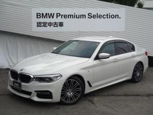 BMW 5シリーズ 523d Mスポーツ イノベーションPKG ジェスチャーコントロール ヘッドアップディスプレー LEDヘッドライト HDDナビ 全周囲モニター インテリジェントセーフティー レーンアシスト ACC