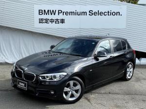 BMW 1シリーズ 118d スポーツ 純正HDDナビ バックカメラ コンフォートパッケージ LEDヘッドライト シートヒーター Bluetoothオーディオ 純正16インチAW ミラーETC 衝突軽減ブレーキ 認定保証