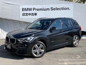 BMW X1 xDrive 18d Mスポーツ ワンオーナー車 アドバンスドアクティブセーフティー ワンオーナー車 コンフォートPKG LEDヘッドライト HDDナビ BカメラPDC 純正アルミ ミラーETC
