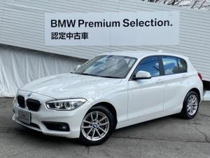 BMW 1シリーズ 118i 弊社元デモカー 純正HDDナビ LEDヘッドライト 純正16インチAW ミラー内蔵ETC クルーズコントロール インテリジェントセーフティ SOSコール オートライト アイドリングストップ 認定保証