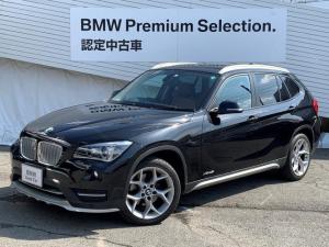 BMW X1 xDrive 28i xライン 純正HDDナビ コンフォートアクセス ルーフレール バックカメラ 茶レザーシート シートヒーター ソナーセンサー ミラーETC 電動シート Bluetooth接続 衝突軽減ブレーキ 認定保証