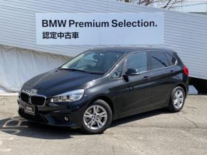 BMW 2シリーズ 218iアクティブツアラー プラスパッケージ パーキングサポート バックカメラ パークディスタンスコントロール LEDヘッドライト ミラETC ミュージックコレクション 純正HDDナビ AUX端子 純正AW ドライビングアシスト