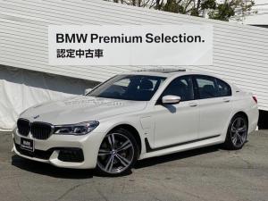 BMW 7シリーズ 740eアイパフォーマンス Mスポーツ 純正HDDナビ 全周囲カメラ ブラックレザーシート ベンチレーションシート サンルーフ ミラETC LEDヘッドライト フルセグTV 電動トランク インテリジェントセーフティ アクティブC G11