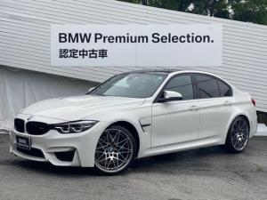 BMW M3  Competition ワンオーナー 450馬力 最大トルク56.1kg 純正20インチAW カーボンルーフ Mブレーキ Harman/Kardonスピーカー 後期モデル クルーズコントロール