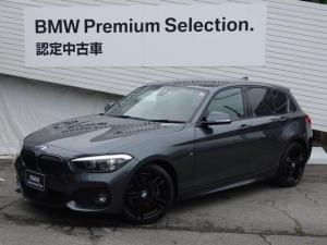 BMW 1シリーズ 118i Mスポーツ エディションシャドー HDDナビ バックカメラ ブラウンレザー シートヒーター 衝突軽減ブレーキ レーンディパーチャー 18インチAW アクティブクルーズコントロール ミラー型ETC