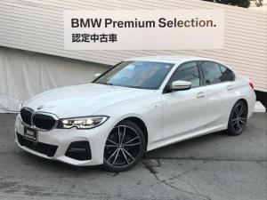 BMW 3シリーズ 320i Mスポーツ デビューPKG サウンドPKG コンフォートPKG 黒レザーシート シートヒーター HDDナビ地デジTV オートトランク ハーマンカードンスピーカー 19インチAW 電動トランク アンビエントライト