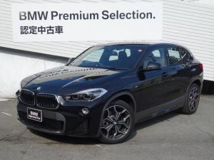 BMW X2 xDrive 20i MスポーツX ハイラインパック アドバンスドアクティブセーフティPKG ヘッドアップディスプレイ アクティブクルーズコントロール ハイラインPKG ブラックレザー 電動シート HDDナビ Bカメラ 電動リアゲート 19インチAW