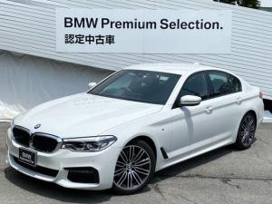 BMW 5シリーズ 523i Mスポーツ アクティブクルーズコントロール 黒レザー シートヒーター パワーシート ヘッドUPディスプレー コンフォートアクセス 衝突軽減ブレーキ レーンディパーチャー レーンチェンジウォーニング