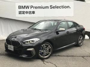 BMW 2シリーズ M235i xDriveグランクーペ 弊社デモカー アダプティブMサスペンション Mスポーツシート ブラックレザーシート シートヒーティング HDDナビ リアビューカメラ アクティブクルーズコントロール LEDヘッドライト 電動シート