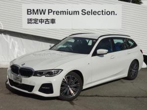BMW 3シリーズ 318iツーリング Mスポーツ HDDナビ バックカメラ パドルシフト Mスポーツシート パワーシート シートヒーター ACC 18インチAW ミラー型ETC LEDヘッドライト 電動リヤゲート オートライト