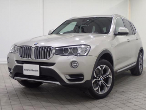 iBMW BMW X3 xDrive 20dXライン認定保証ACC付黒革シートヒータ
