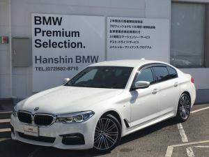BMW 5シリーズ 523dMスポーツ認定保証LEDヘッドACC地デジHDDナビ