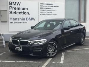 BMW 5シリーズ 523dMスポーツ認定保証HUDブラックレザーシートーヒータ