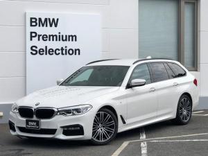 BMW 5シリーズ 523dツーリング Mスポーツ ハイラインパッケージ 純正HDDナビ・全周囲カメラ・前後PDCセンサー・レーンキープアシスト・レーンディパチャーウォーニング・レンチェンジウォーニング・SOS・コネクティッドドライブ・地デジ・アクティブクルーズコントロール