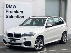 BMW X5 xDrive35iMスポーツLEDヘッドサンルーフ黒革ACC