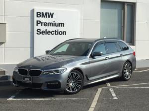 BMW 5シリーズ 523dツーリング Mスポーツ ヘッドアップディスプレイ・アダプティブLEDヘッドライト・電動リアゲート・アクティブクルーズコントロール・ミラーETC・SOSコール・地デジ・アイドリングストップ・ドアバイザー・HIFIスピーカー・