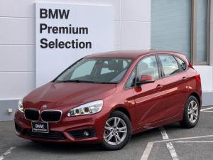 BMW 2シリーズ 218dアクティブツアラー プラスパッケージ・パーキングサポートパッケージ・衝突軽減ブレーキ・純正HDDナビ・バックカメラPDC・LEDヘッドライト・ミラーETC・ミュージックプレーヤー・電動格納ミラー・ディーゼルモデルF45