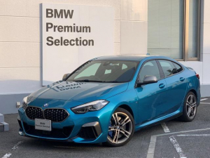 BMW 2シリーズ M235i xDriveグランクーペ アクティブクルーズ レーンキープ 衝突軽減ブレーキ 純正18インチAW アルカンターラシート 運転席電動シート シートヒーター LEDヘッドライト バックカメラ PDCセンサー 認定保証