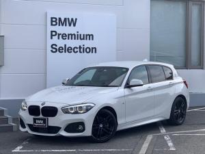 BMW 1シリーズ 118d Mスポーツ エディションシャドー 限定車・ブラックキドニーグリル・専用ブラック18インチAW・コニャックレザー・フロントシートヒーター・LEDヘッドライト・純正HDDナビ・ACC・衝突軽減ブレーキ・コンフォートアクセス・ミラーETC・