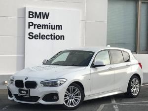 BMW 1シリーズ 118d Mスポーツ ・パーキングサポート・LEDヘッドライト・純正HDDナビ・バックカメラ・純正17インチアルミホイール・ETC・衝突回避ブレーキ・車線逸脱警告・リアPDCセンサー・LEDフォグライト・CD/DVD再生