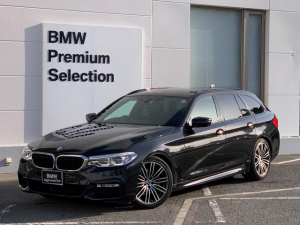 BMW 5シリーズ 523iツーリング Mスポーツ イノベーションパッケージ・ヘッドアップディスプレイ・アダプティブLED・純正HDDナビ・ジェスチャーコントロール・電動リアゲート・地デジ・衝突軽減ブレーキ・ACC・G31