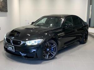 BMW M3 M3 カーボンインテリア・パーキングサポートパッケージ・ヘッドアップディスプレイ・レーンチェンジウォーニング・ブラックレザー・シートヒーター・カーボンルーフ・インテリジェントセーフティ・地デジ・純正19AW