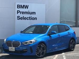 BMW 1シリーズ 118d Mスポーツ エディションジョイ+ ・1オーナー・ナビパッケージ・コンフォートパッケージ・LEDヘッドライト・パーキングアシスト・リバースアシスト・バックカメラ・前後PDCセンサー・レーンチェンジウォーニング・ハーフレザー・純正18AW