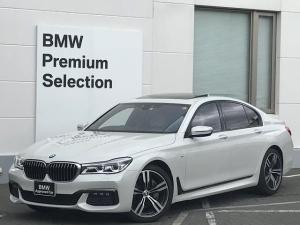 BMW 7シリーズ 740i Mスポーツ ・アイボリーレザー・レーザーライト・ソフトクローズドア・サンルーフ・マッサージシート・シートエアコン・アクティブクルーズコントロール・ヘッドアップディスプレイ・ハーマンカードンスピーカー・トップビュー
