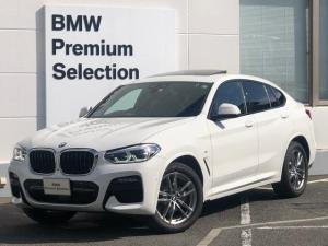 BMW X4 xDrive 20d Mスポーツ ワンオーナー・パノラマサンルーフ・純正HDDナビ・ACC・全周囲カメラ・アダプティブLED・モカレザー・ミラー内臓ETC・前後シートヒーター・ヘッドアップディスプレイ・電動リアゲート・G02