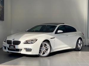 BMW 6シリーズ 640iグランクーペ Mスポーツ サンルーフ・ヘッドアップディスプレイ・シナモンブラウンレザー・シートヒーター・アクティブクルーズコントロール・バックカメラ・フルセグ地デジ・衝突軽減ブレーキ・車線逸脱警告・パワーシート・LEDライト