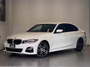 BMW 3シリーズ 320i Mスポーツ ハイラインパッケージ ワンオーナー・デビューパッケージ・オプション19インチアルミホイール・ブラックレザー・オートトランク・全周囲カメラ・純正HDDナビ・バックカメラ・ドライビングアシスト・LEDヘッドライト・ETCG20