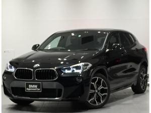 BMW X2 sDrive 18i MスポーツX ・セレクトパッケージ・コンフォートパッケージ・アドバンスドアクティブセーフティー・シートヒーター・LEDヘッドライト・バックカメラ・前後PDCセンサー・純正HDDナビ・純正AW・パーキングアシスト・