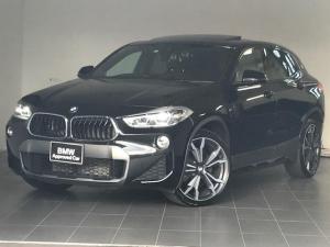 BMW X2 xDrive 20i MスポーツX ・LEDヘッドライト・バックカメラ・シートヒーター・ブラウンレザー・ヘッドアップディスプレイ・アクティブクルーズコントロール・コンフォートアクセス・電動トランク・電動シート・純正アルミホイール・G39