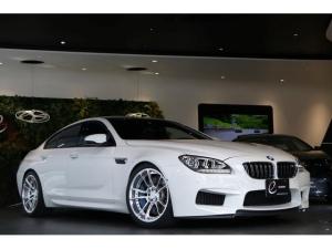 BMW M6 グランクーペ MDCTドライブロジック  左ハンドル車 新品エナジー鍛造20インチAW タイヤ エナジーダウンサス ソフトクローズド 黒革シート シートヒーター H26 27 28 29 30 R1ディーラー点検有