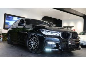 BMW 7シリーズ 740eアイパフォーマンス Mスポーツ エナジーコンプリートカーEVO G11.2 ガラスサンルーフ レーザーヘッドライト プラグインハイブリッド 新品エナジー20インチAW&タイヤ ブラウンレザーシート スペアキー有 ローダウン