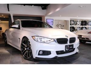 BMW 4シリーズ 420iクーペ Mスポーツ 1オーナー 3Dデザイン・フロントリップ&サイドスカート&リアディフューザー&車高調&マフラー&ブースターチップ レカロシート Mパフォーマンス・ブレーキシステム&インパネ&ステアリング 地デジ