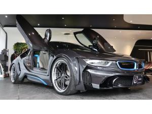 BMW i8 ベースグレード エナジーコンプリートカーEVO i8 スタンダードエディション ピュアインパルスパッケージ コンフォートアクセス エナジー&BCレーシング車高調キット エナジー21インチAW スペアキー有