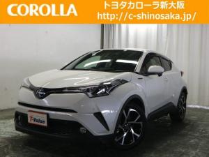 トヨタ C-HR G トヨタ認定中古車 メモリーナビ