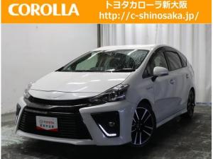 トヨタ プリウスアルファ Sツーリングセレクション・G's フルエアロ ワンオ-ナ-