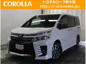 トヨタ ヴォクシー ZS 煌 リヤモニタ-11インチ ワンオ-ナ- LEDライト