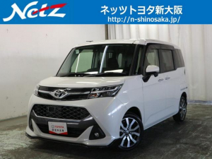 トヨタ タンク カスタムG-T トヨタ認定中古車 衝突軽減装置 SDフルナビ