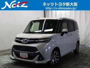 トヨタ タンク カスタムG-T トヨタ認定中古車 衝突軽減装置SDフルナビ