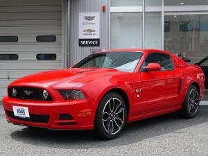 フォード マスタング V8 GTアピアランスパッケージ 正規ディーラー車 2014年モデル 赤革シート