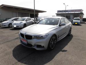 BMW 3シリーズ 320iグランツーリスモ Mスポーツ ワンオーナー/黒革シート/パワーシート/プッシュスタート/スマートキー/純正ナビ/バックカメラ/シートヒーター/レーダー探知機/HID/フォグランプ/電動リアゲート/ETC/純正18AW