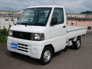 三菱 ミニキャブトラック Vタイプ 4WD エアコン パワステ オートマチック車 走行59414km