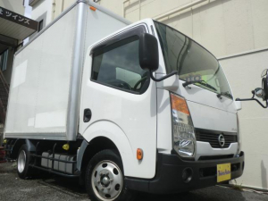 日産 アトラストラック 1.3t積 ドライバン バックカメラ レール2段
