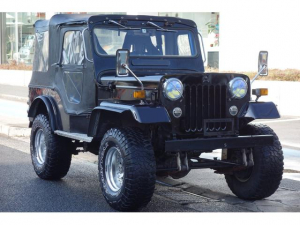 三菱 ジープ  J53改NOX/PM規制適合 G54Bガソリンエンジン搭載J57仕様 公認改造内容・原動機・燃料装置・懸架装置 LSD ロールバー ソレックス タコ足
