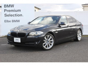 BMW 5シリーズ 528i ウッドパネル 黒レザー 電動シート地デジTV リアフィルム アルミモール フロントシートヒータ